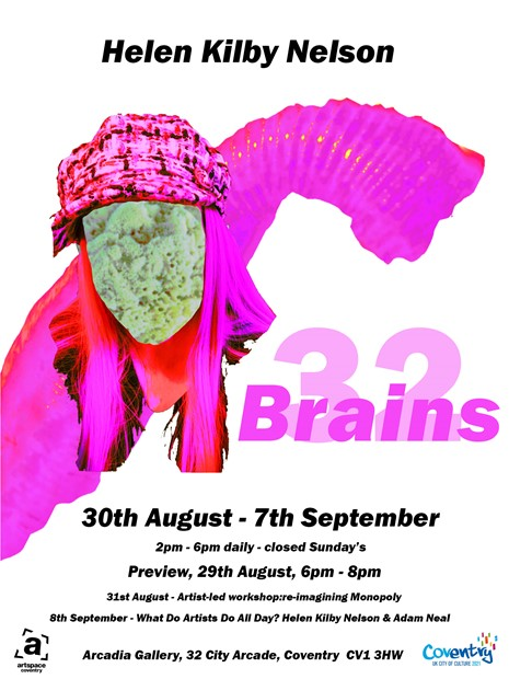 32 Brains, by Helen Kilby-Nelson