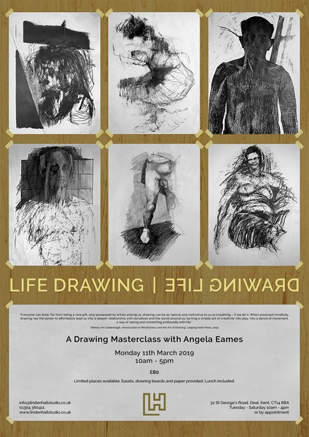 Life Drawing Masterclass, by Angela Eames