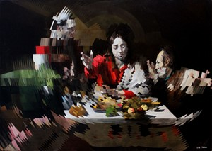 The Supper at Emmaus (after Caravaggio), by Will Teather