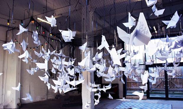 Wishing origami