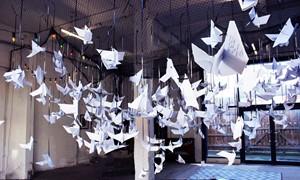 Wishing origami, by gemma wood