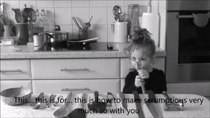 Semiotics of the child's kitchen, by Izabela Brudkiewicz