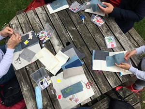 A stitch for every sound [workshop], by Claire Barber