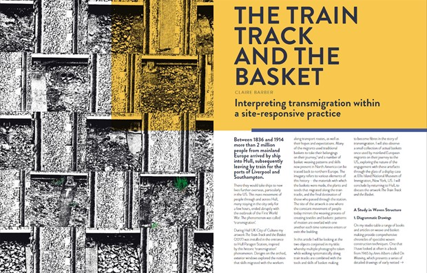The Train Track and the Basket: Interpreting transmigration within a site-responsive practice