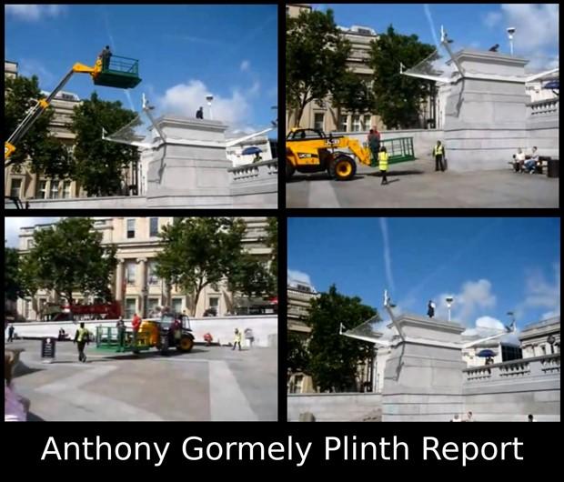 Anthony Gormely Plinth Report