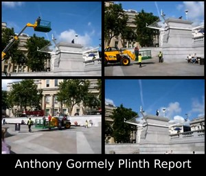 Anthony Gormely Plinth Report, by john maclean