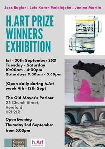 H-art Winners exhibition, by jess bugler