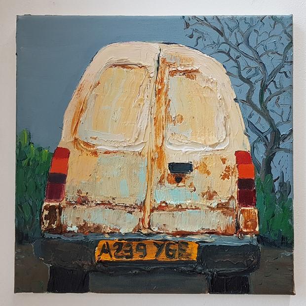 Van study's part 2 2019 - Credit: Van study 8 2019 Paul Newman 30 x 30 cm