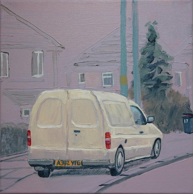 Van study's part 2 2019 - Credit: van study 12 2019 Paul Newman 30x30 cm