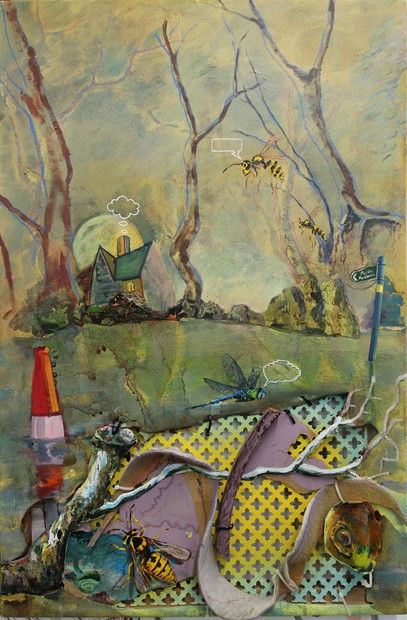 Woodland House paintings I & II