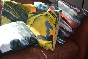 Cushions, by Judith Beeby