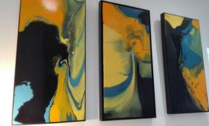 Amazon Basin Triptych, by Judith Beeby