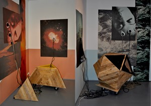 Nothing 'is' Immediate - Geometric Sculptural Installation, by Tony Spencer