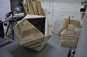 Nothing 'is' Immediate: Geometric Sculptural Sound Installations, by Tony Spencer