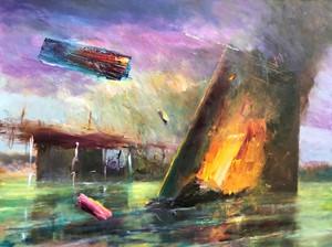 Late Pink, by Bernard J Charnley