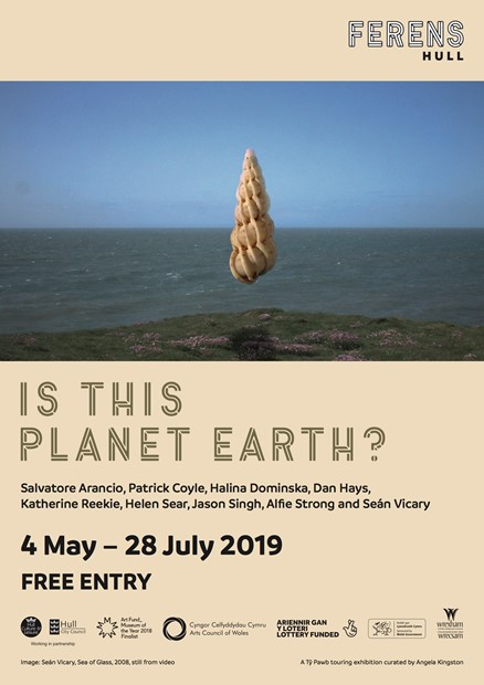 'Is This Planet Earth?' Touring exhibition, Curator Angela Kingston, by Halina Dominska