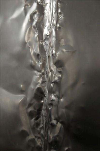 Untitled (metal sheet), 2017.