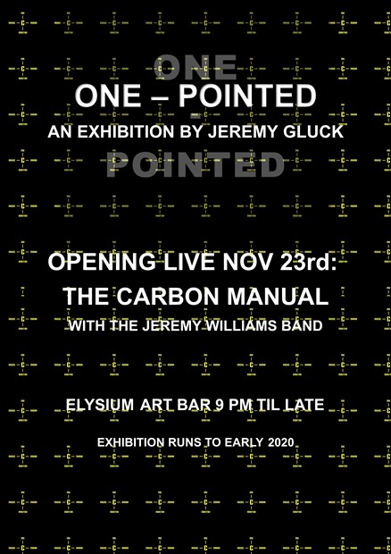 One-pointed: An Exhibition by Jeremy Gluck, by Jeremy Gluck