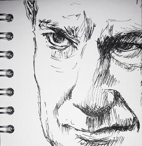 Daily Drawings, by Viv Owen