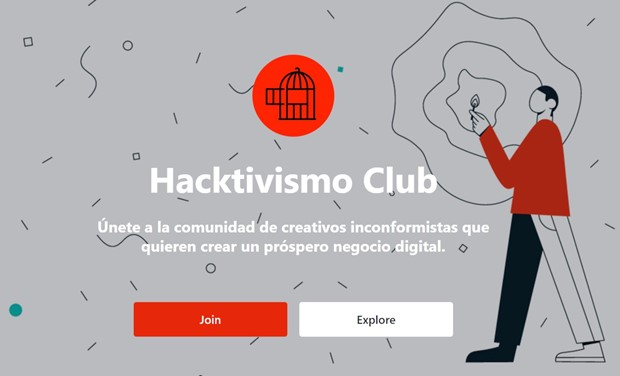 HACKTIVISMO CLUB - a new sharing platform for creatives.