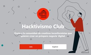 HACKTIVISMO CLUB - a new sharing platform for creatives, by Roanne O'Donnell