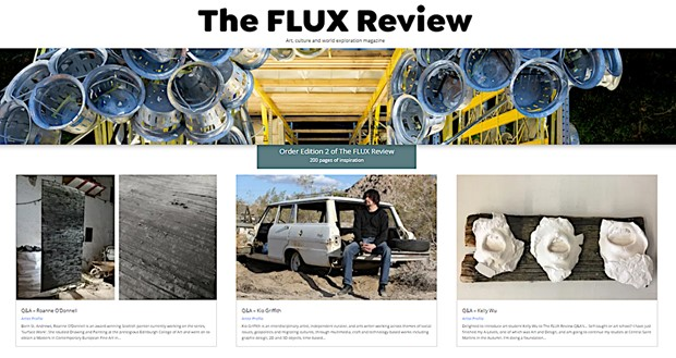 Q&A in the FLUX Review.