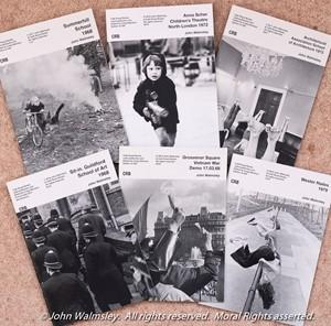 My Café Royal Books covers, by John Walmsley