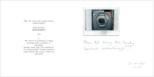 Tumble Dryer 3/40, by Pixie Fear
