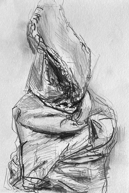 Drawings - Credit: Award Winning drawing for the 'Haydn John James Layton Painting and Drawing Undergraduate Prize 2020