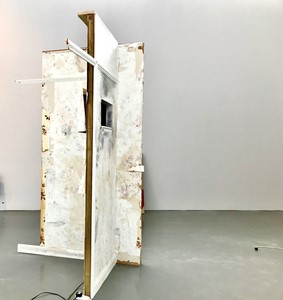 Two Walls Left Standing, by Lucy Bevin